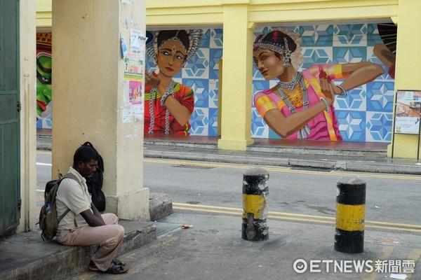 ▲新加坡小印度。(圖/記者于佳云攝)