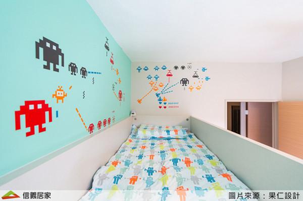 ▲▼3技巧打造完美兒童房。(圖/信義居家提供)