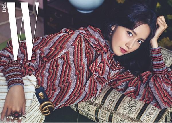 ▲少女時代穿Gucci登雜誌封面。(圖/翻攝自微博、IG)