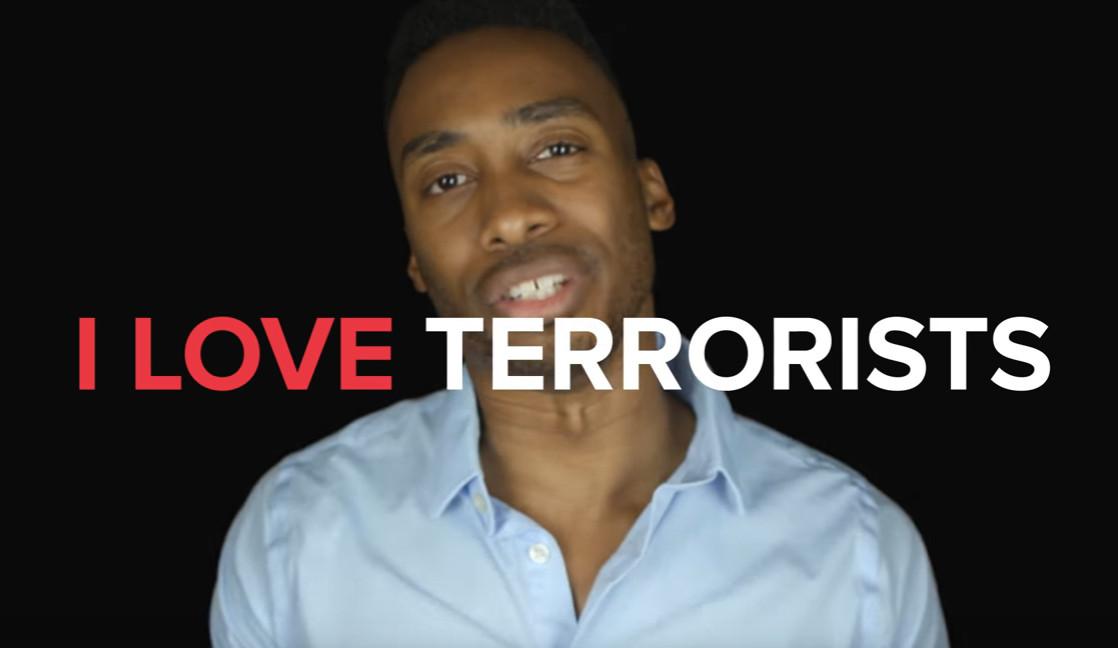 我愛恐怖份子!美嘻哈歌手「拍片深情告白」卻反被讚爆(翻攝自Prince Ea/Youtube)