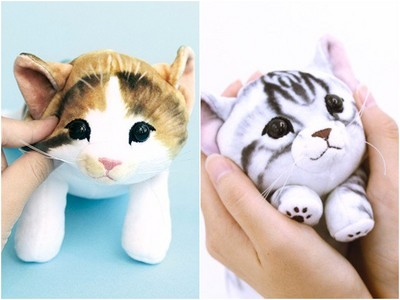 療癒❤仿真「軟Q手感貓咪」 上課會一直想偷捏怎麼辦