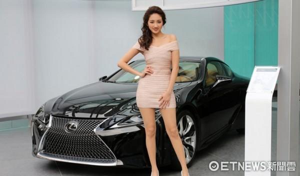 Lexus LC。(圖/記者張慶輝攝)