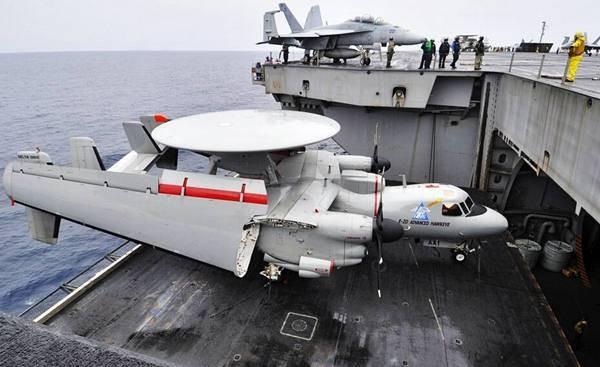 中國首款艦載預警機「空警-600」。(圖/取自鳳凰網)