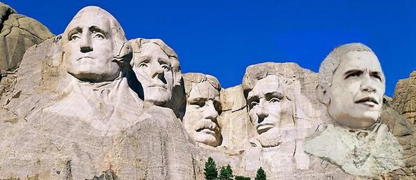 ▲▼網友惡搞美國總統,把川普P在拉什莫爾山(Mount Rushmore,美國總統雕像山)上面。(圖/翻攝自Twitter/ImpeachTrump)