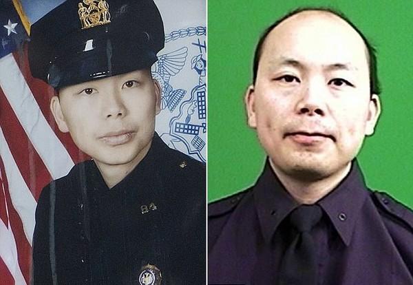 警察因公殉職,妻子在他死後2年半懷孕生下女兒(圖/翻攝自Dailymail)