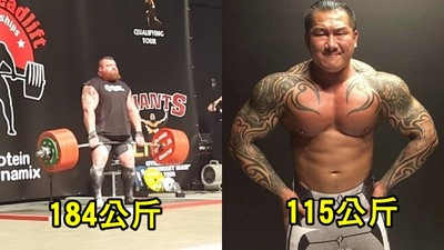 遭嗆硬舉不如老外!館長霸氣打臉:他180公斤我115,台人並不差