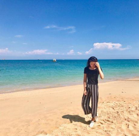 澎湖海景,隘門沙灘。(圖/IG@jing_1209提供,請勿任意翻攝以免侵權)