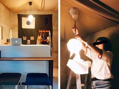 廢教室變「1:1絕美咖啡店」 設計系最狂期末作業完成了!