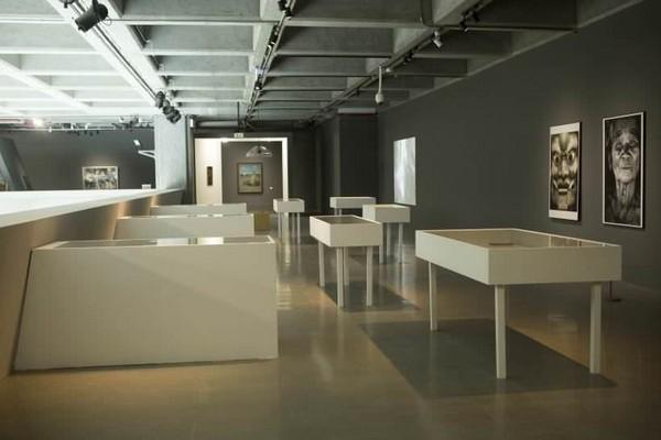展覽空間一偶。圖/ 非池中藝術網攝。