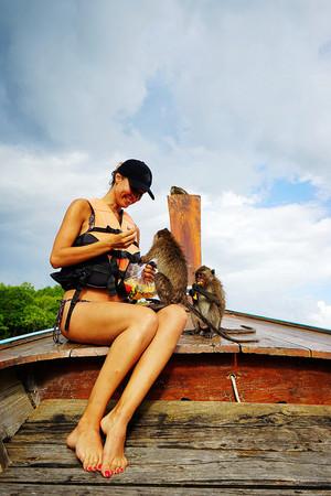 泰國蘭塔島。(圖/快樂雲)