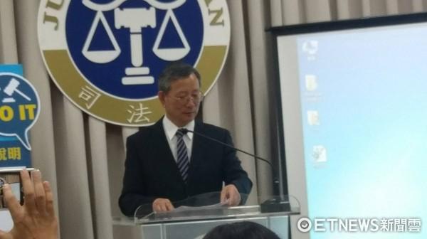 ▲司法院祕書長呂太郎             。
