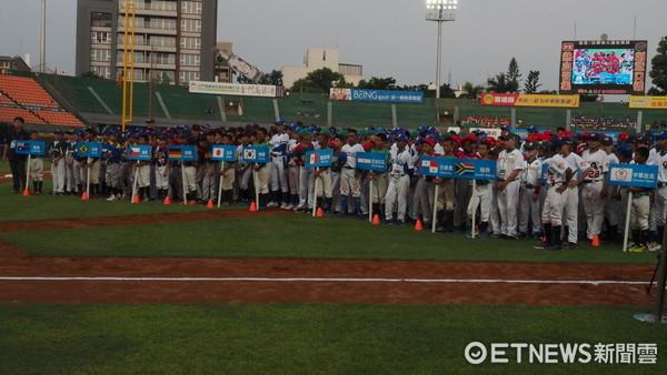 ▲U12世界盃少棒賽開幕典禮。(圖/記者顏如玉攝)