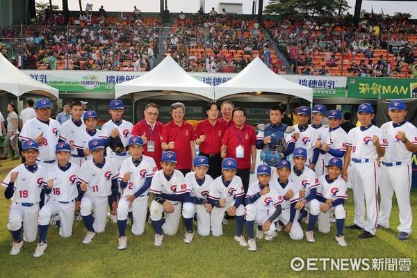 ▲陳副總統、台南市長賴清德市長人共同為中華隊加油打氣。(圖/市府提供)