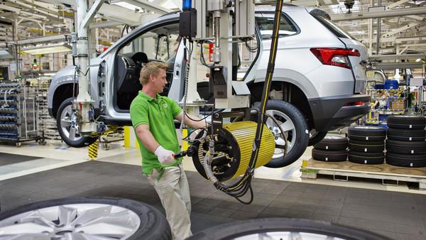 最快年底抵台!Skoda最新SUV「Karoq」正式投產(圖/翻攝自Skoda)