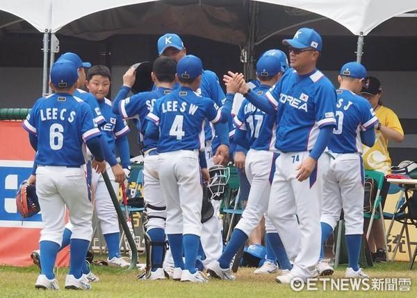 ▲U12南韓隊。(圖/記者楊舒帆攝)