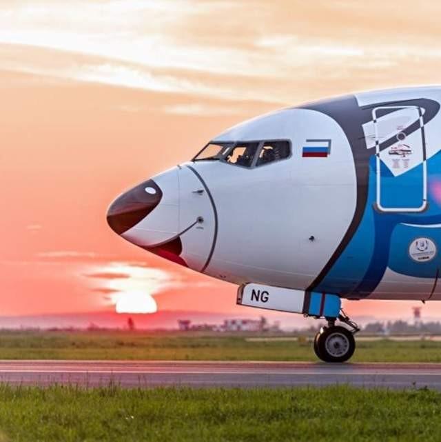 ▲▼俄羅斯NordStar航空推出月月班機。(圖/翻攝自NordStar官網)