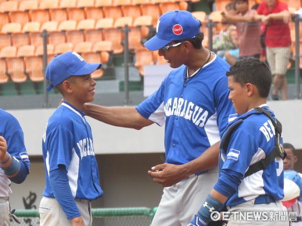▲U12世界盃,尼加拉瓜默特阿多(Jarold Montealto)。(圖/記者楊舒帆攝)