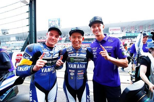 ▲第40屆「鈴鹿8耐」大咖雲集!YAMAHA完成三連勝霸業。(圖/翻攝自Yamaha Factory Racing粉絲專頁)