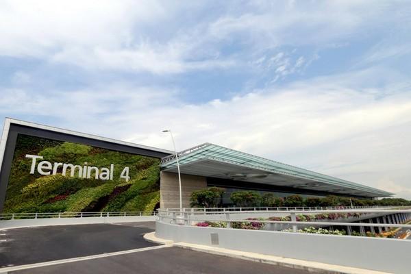 ▲新加坡樟宜機場第四航廈。(圖/Changi Airport粉絲頁)