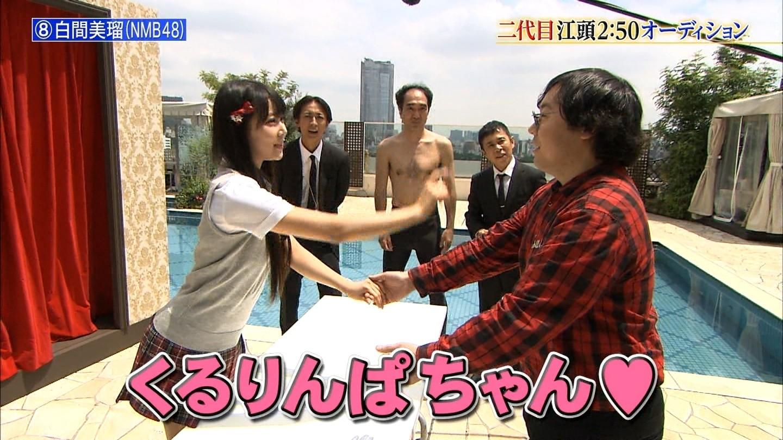 白間美瑠為何人氣這麼高,看看她握手會神應對就知道了