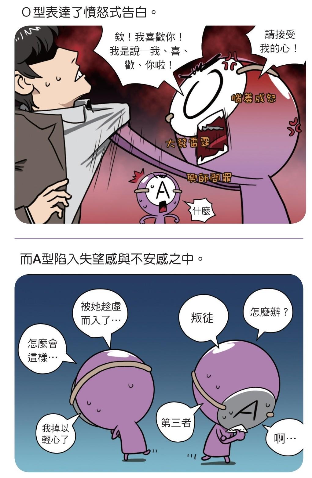 血型小將abo10(圖/業者時報出版提供)