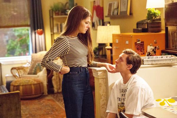 湯姆霍蘭德(Tom Holland)和瑪麗莎托梅(Marisa Tomei)。(圖/達志影像)