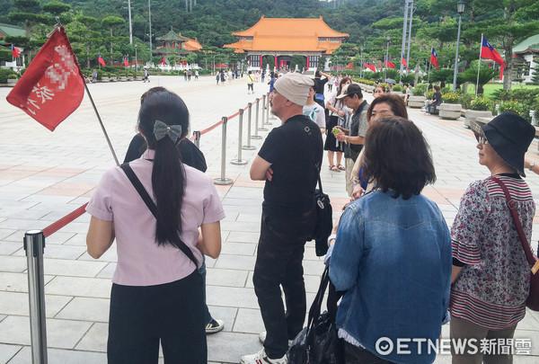 旅客,遊客,觀光,陸客,導遊,忠烈祠(圖/記者張一中攝)