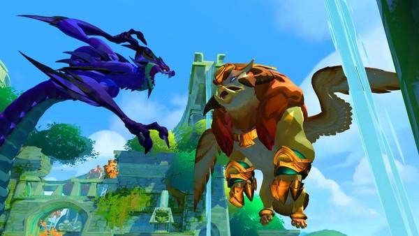 兩方陣營分別以獅鷲和龍為守護獸(圖片來源:官方)