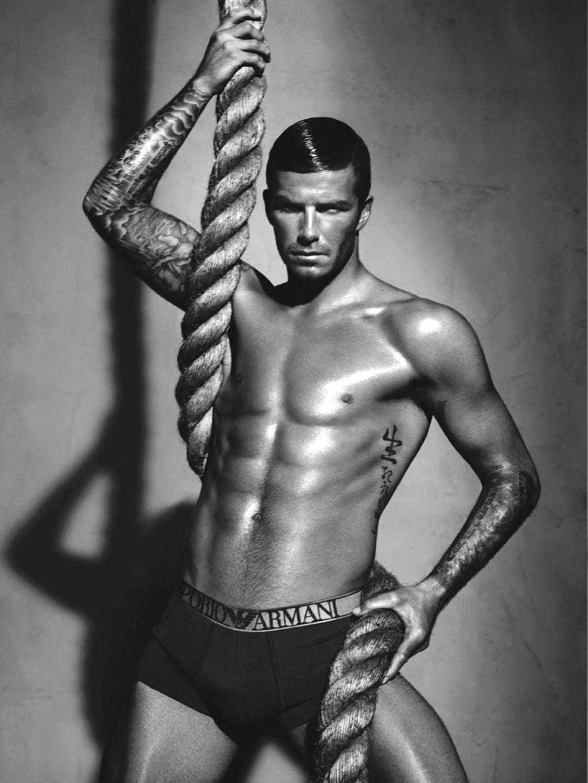 從亞曼尼賣到H&M,只要是內褲,大家都會想起貝克漢。