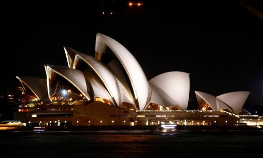 ▲▼ 雪梨歌劇院。(圖/路透社)