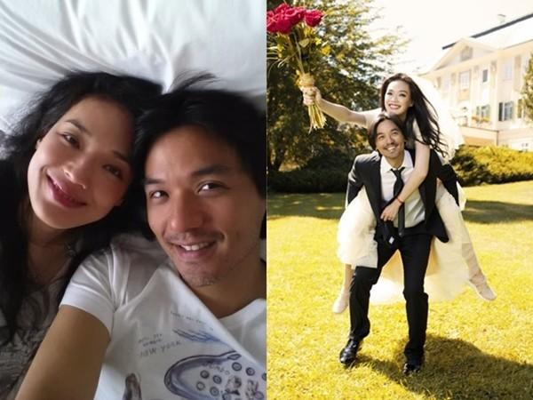 ▲舒淇2016年9月和馮德倫閃電結婚。(圖/翻攝自馮德倫Instagram、資料照/公關照)