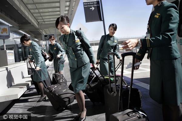 ▲長榮航空,長榮空服員。(圖/視覺中國CFP)