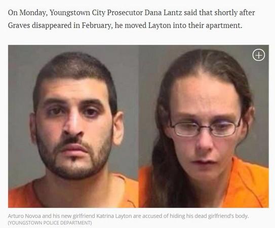 賤男將女友屍體藏冰櫃半年 還讓新女友盜用她身分。(圖/翻攝自《紐約每日新聞》/當地警察局提供)