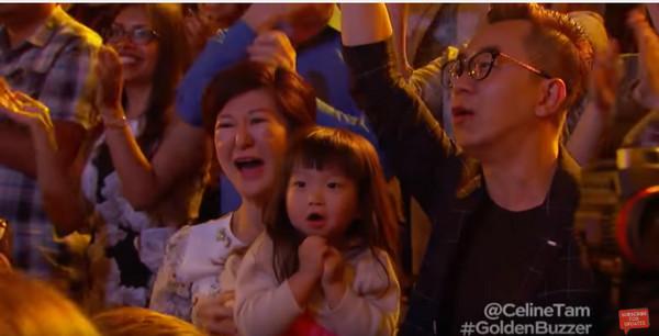 ▲譚芷昀獲黃金按鈕直接晉級準決賽。(圖/翻攝自鄧紫棋微博、YouTube)