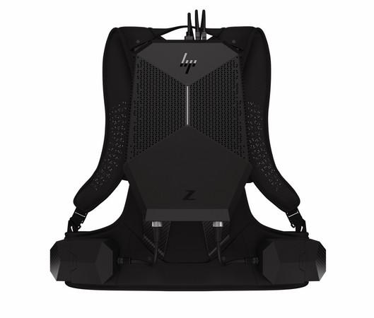 主打B2B、首搭NVIDIA新GPU!HP Z VR Backpack電腦發表。(圖/翻攝自官網)