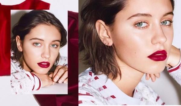 ▲裘德洛16歲女兒拍Burberry廣告(圖/翻攝自lirisaw IG)