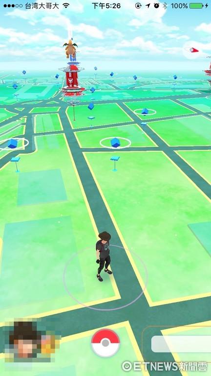 《Pokémon GO》有望登陸?網友發現中國地圖解鎖可成功抓寶(圖/記者樓菀玲攝)