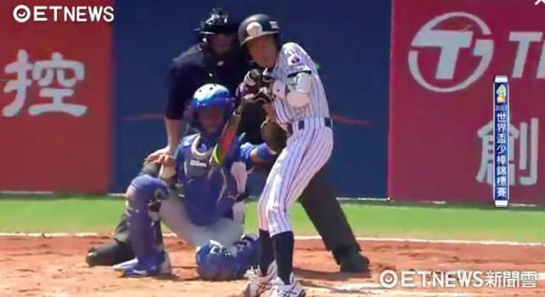 ▲ 尼加拉瓜投手柯亞多(Diego Collado)單局4次投手犯規,隨後又投出觸身球,被換下場。(圖/截自ETNEWS)