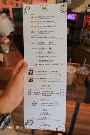 ▲台中審計新村北歐夢幻風輕食店。(圖/Mimi韓提供)