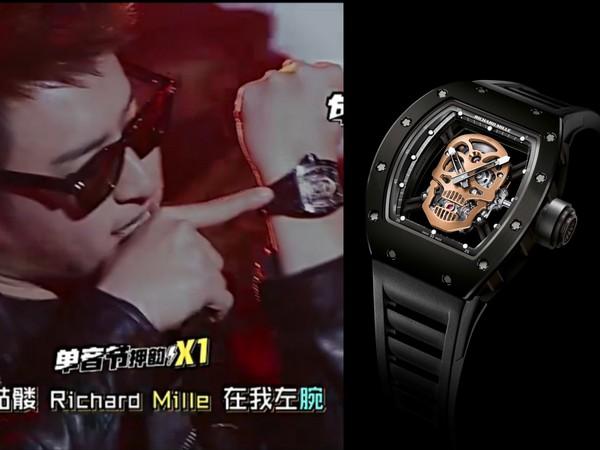 ▲潘瑋柏把RM錶寫進歌裡(圖/品牌提供)