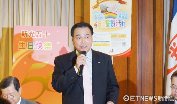 新光人壽總經理蔡雄繼。(圖/資料照)