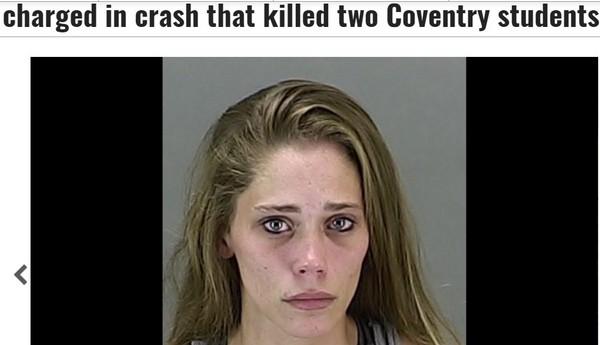24歲三寶女開車傳簡訊撞死人 事後還想刪訊息滅證!(圖/翻攝自「CantonRep.com」網站)