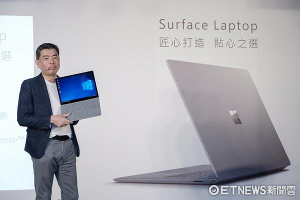 微軟暫代台灣區總經理蔡恩全 。(圖/記者莊友直攝)