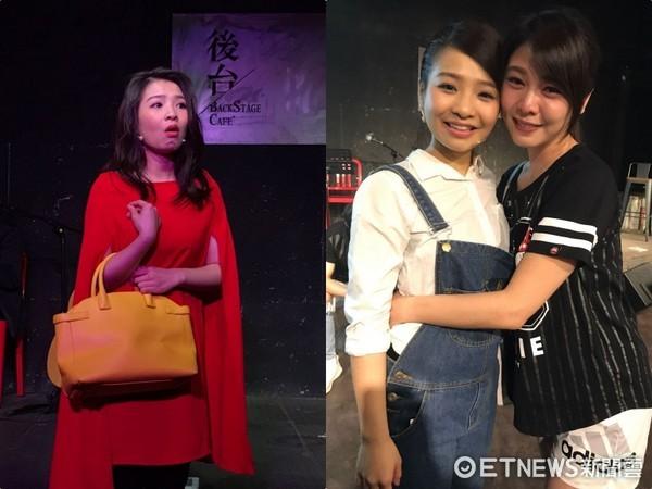 ▲鍾琪《不然少女》音樂劇演出,惹哭師姐白家綺。(圖/星之國際提供)