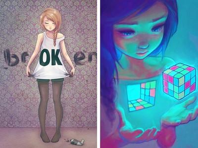 看見ok藏在broken裡嗎?10幅畫看憂鬱者如何「對抗悲觀」