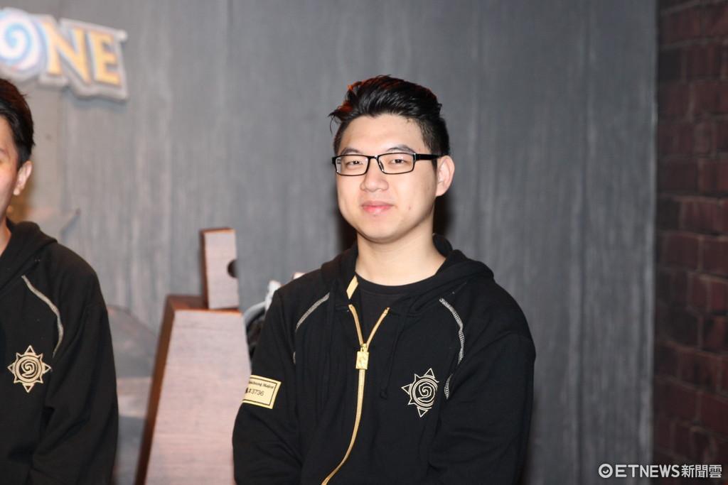 《爐石戰記》台中四強賽前訪問 韓國選手一致最想與OEO交手(圖/記者樓菀玲攝)