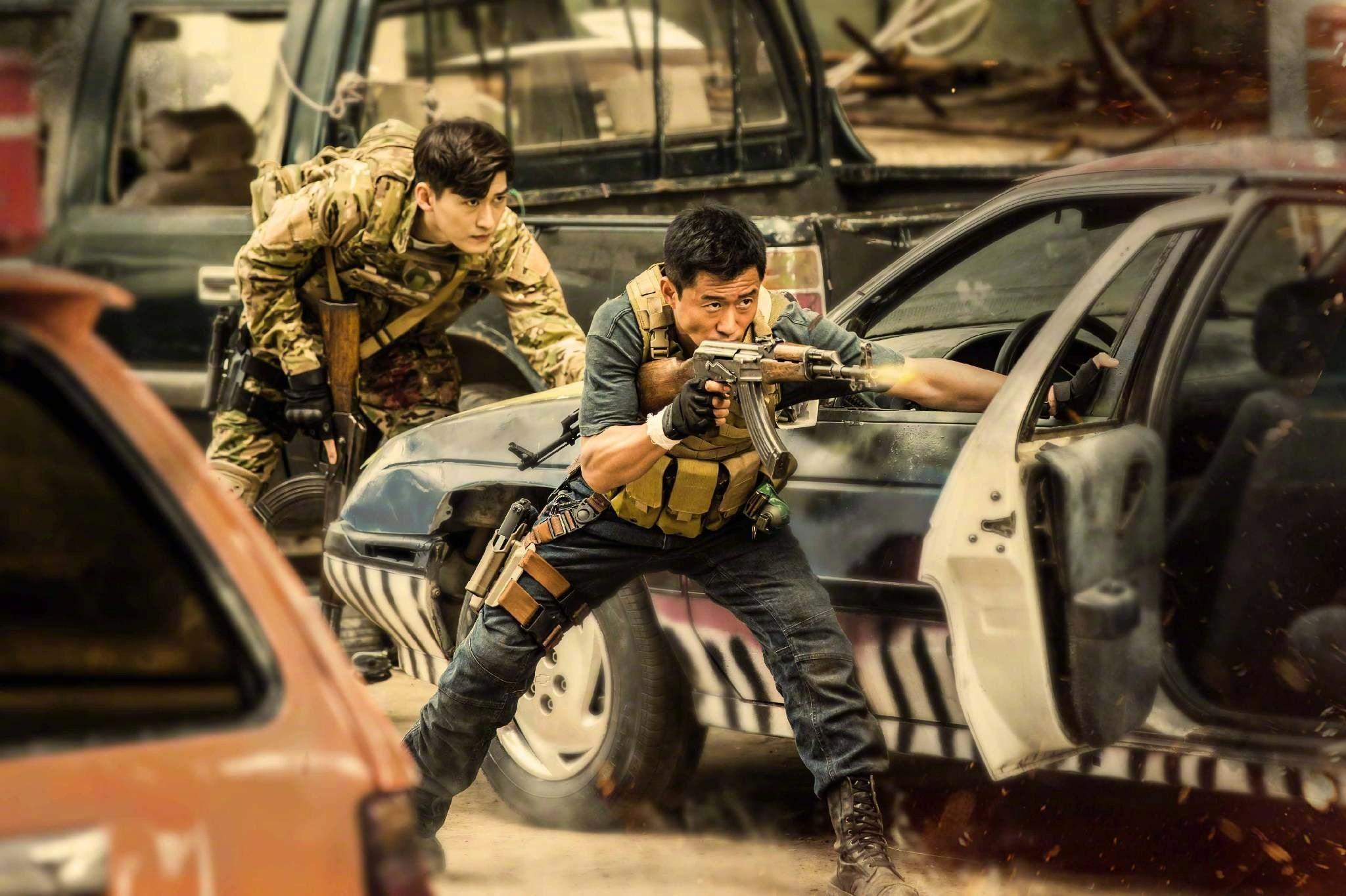 ▲▼ 電影《戰狼2》劇照。(圖/翻攝自微博)