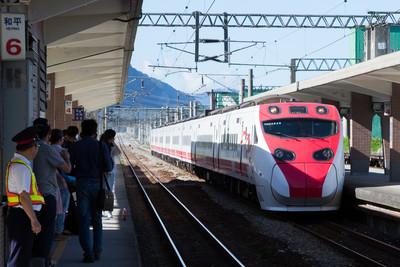 花蓮4.8震!台鐵光復至瑞穗列車減速慢行