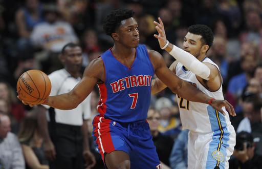 ▲上季在NBA賽場平均僅4.4分的活塞強森,在業餘賽是單場猛砍86分。(圖/達志影像/美聯社)