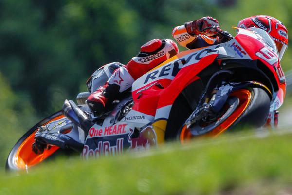 ▲天氣變化大 換胎決勝負!MotoGP捷克站焦點。(圖/翻攝自MotoGP官網)